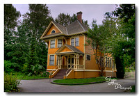 Historic house on Deas Island, Delta, BC