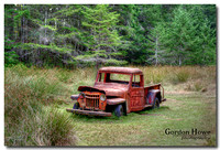 Old truck, Wallace Island Provincial Marine Park