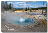 Hot spring near Firehole Lake, Yellowstone National Park 2
