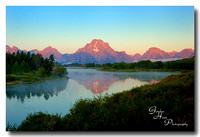 Oxbow Bend, Grand Tetons national Park 1